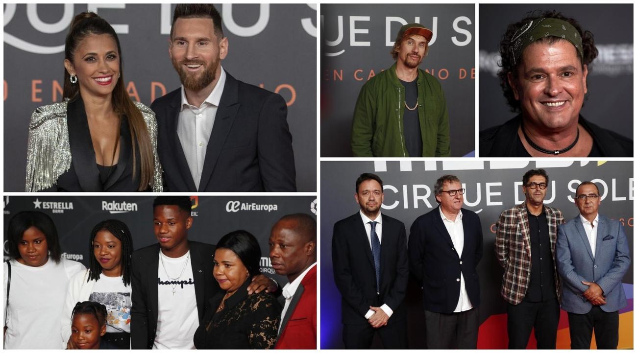 Evento Messi: La Familia De Messi Y La De Fati, Pinto