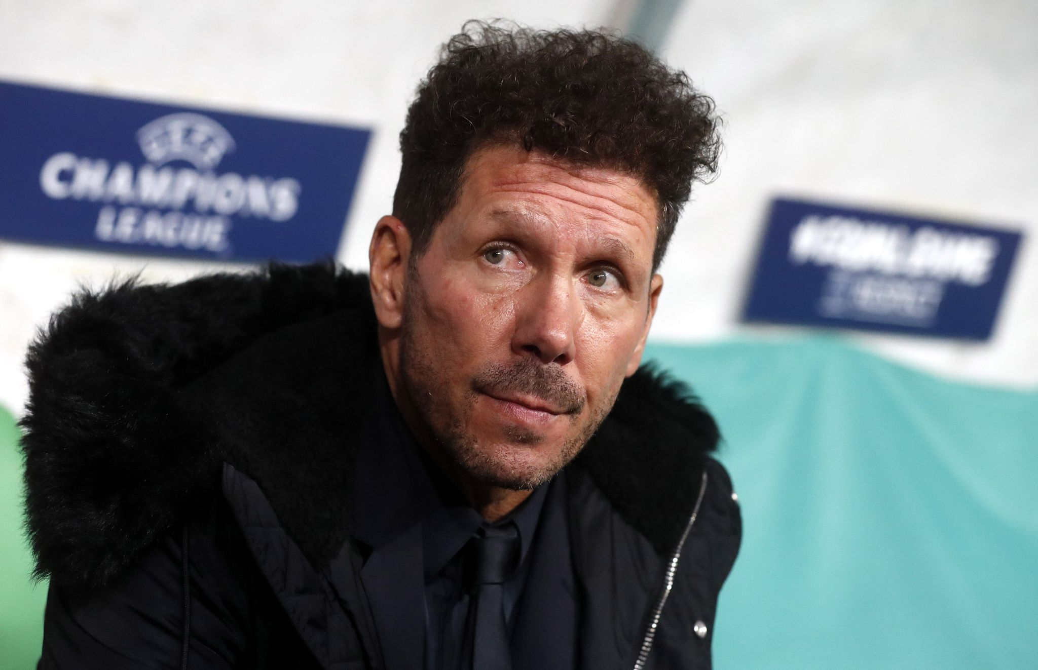 Moscow (Russian Federation), 01/10/2019.- Atletico Madrid head coach Pablo <HIT>Simeone</HIT> before the UEFA Champions League match between Lokomotiv Moscow and Atletico Madrid in Moscow, Russia, 01 October 2019. (Liga de Campeones, Rusia, Moscú) EFE/EPA/MAXIM SHIPENKOV