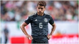 Jonathan con la selección mexicana