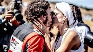 Linda Morselli and Fernando Alonso