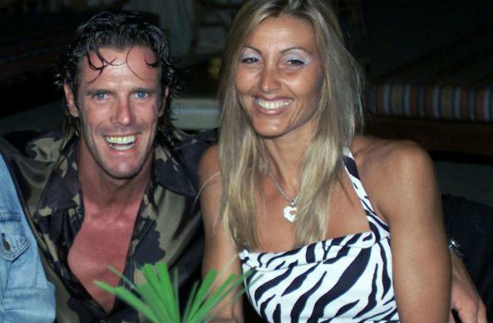 Mario Cipollini y Sabrina Landucci en una imagen del archivo.