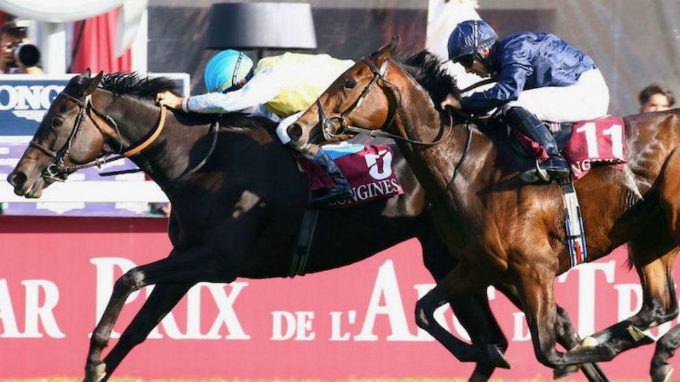 Olivier  Peslier consiguió su última gran victoria con 'Villa...
