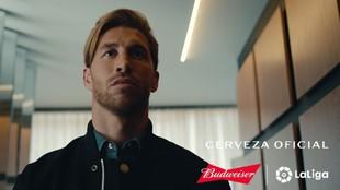 Sergio Ramos con Budweiser