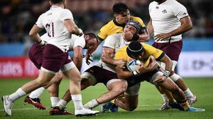 Australia contra Georgia.