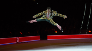 Javier Fernández durante el 'Revolution on Ice'