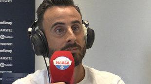 Pedro López atiende a Radio MARCA.