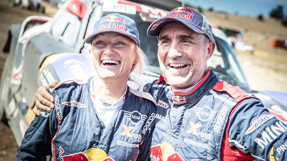 Stéphane y Andrea Peterhansel, campeones de la Copa del Mundo de...