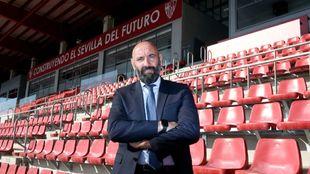 Entrevista al director deportivo del Sevilla, Monchi.