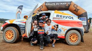 Isidre Esteve Rally de Marruecos 2019