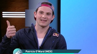 Patricio platicó para los micrófonos de Deportes en Claro.
