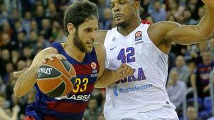 Stratos Perperoglou jugó en el Barcelona entre 2015 y 2017
