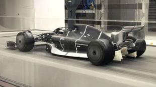 Prototipo del coche de 2021 que se está desarrollando en Hivill...