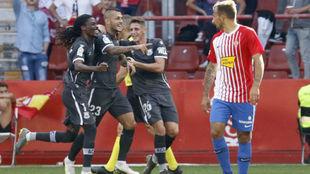 Stoichkov celebra el segundo gol alfarero.