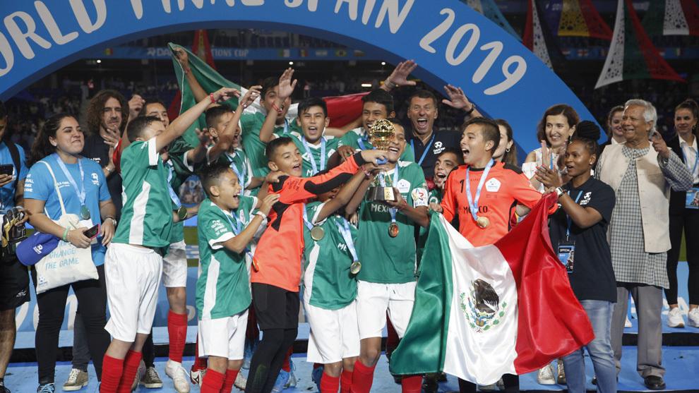 México, campeón del mundo en la Danone Nations Cup 2019