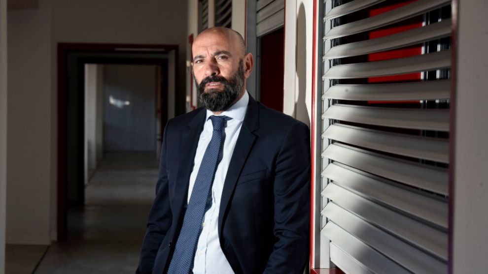ENTREVISTA AL DIRECTOR GENERAL DEPORTIVO DEL SEVILLAFC, <HIT>MONCHI</HIT>