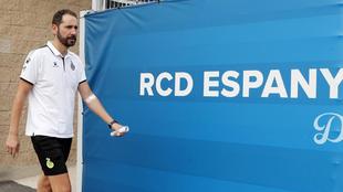 Pablo Machín, en la Ciudad Deportiva.