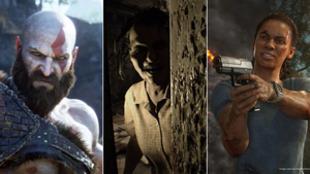 God of War, Resident Evil 7: Biohazard y Unchartead El Legado Perdido