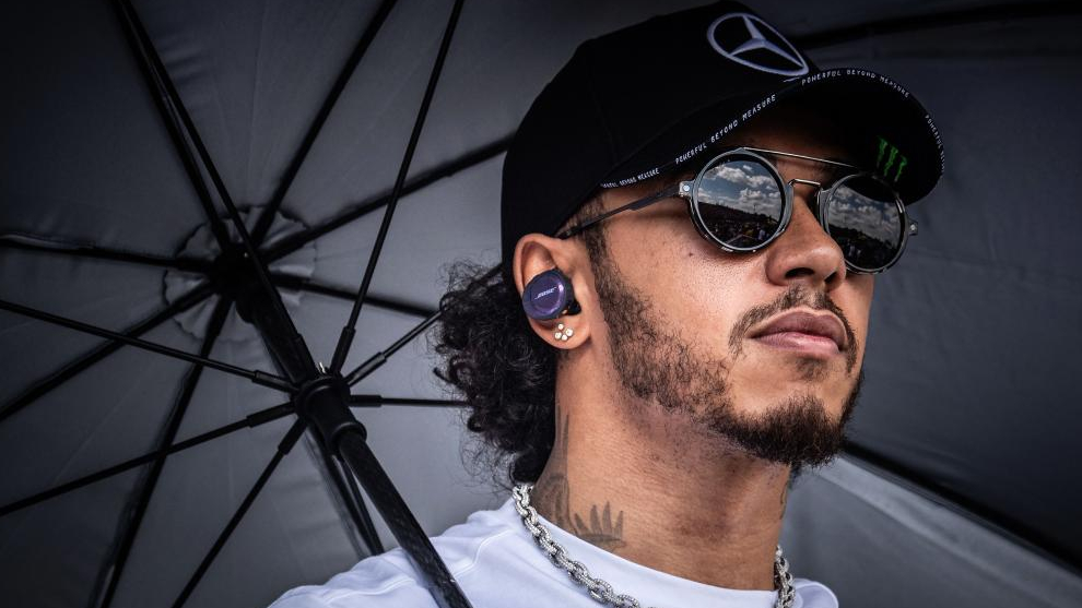 Lewis Hamilton, en la previa del GP de Japón.
