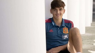 Gonzalo Villar posa para MARCA.