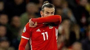 Bale se lamenta de una ocasión fallada.
