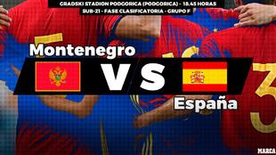 Montenegro - España / 18.45 horas / Gradski Stadion Podgorica /...