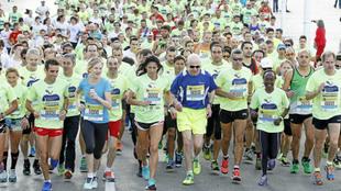 El Maratón de Nueva York (2014) fue el último galardonado...