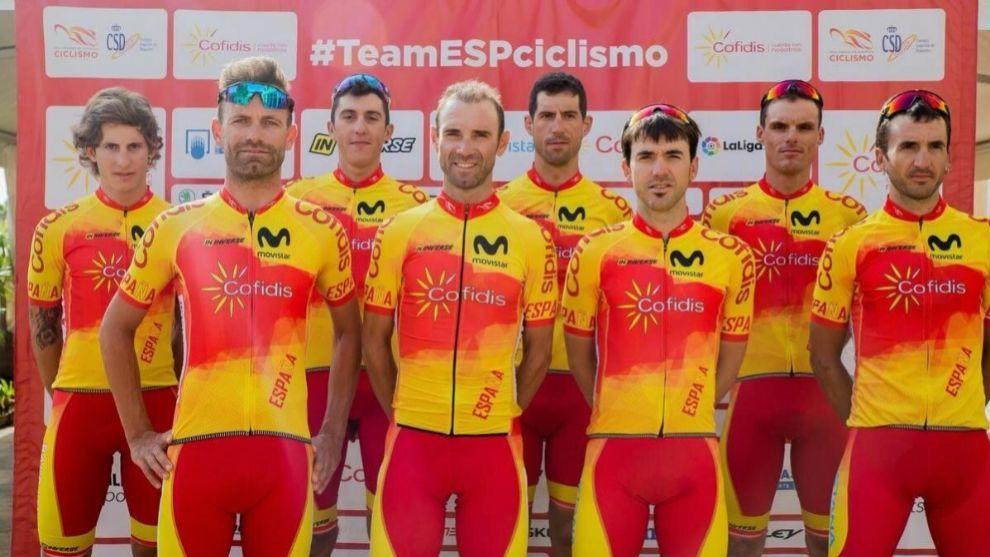 La selección española que fue al último Mundial posa para la foto