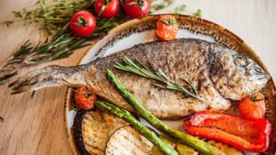 El estudio ha comprobado que el consumo de pescado en los primeros...
