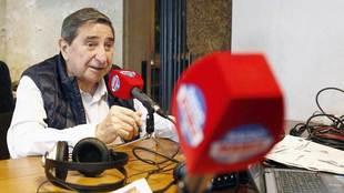 Lendorio, durante la entrevista con Radio MARCA.