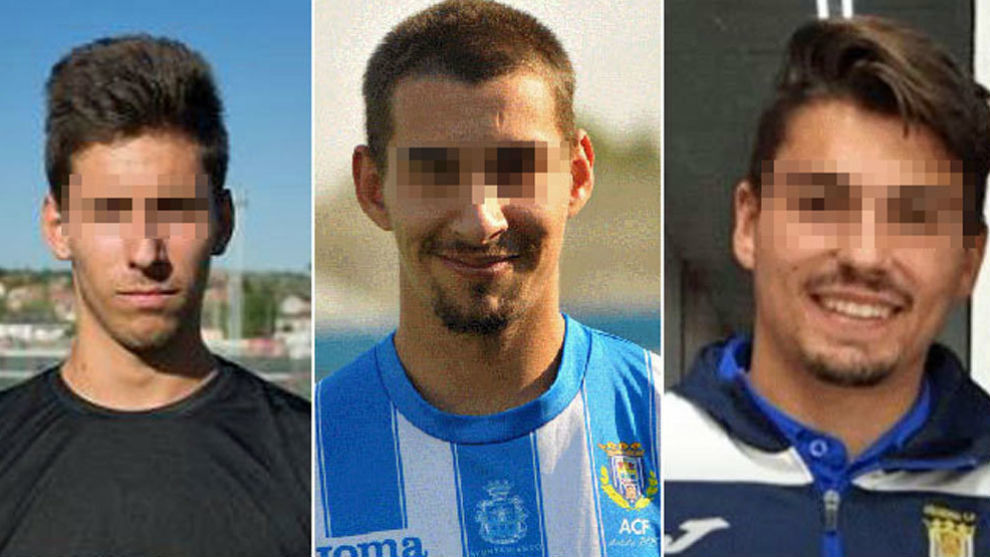 Ex jugadores de la Arandina