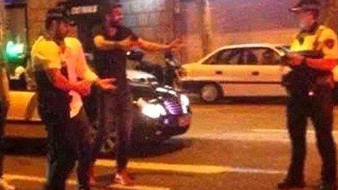 Gerard Piqué sufre un nuevo encontronazo con la policía por una infracción de tráfico.