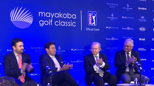 Presentación del Mayakoba Golf Classic
