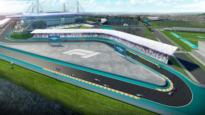 Fórmula 1 logra acuerdo para GP de Miami en 2021