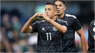 Alvarado en el Estadio Azteca
