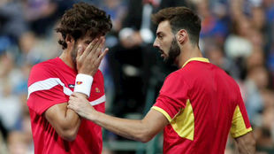 Feli y Marcel hablan en la semifinal de Lille