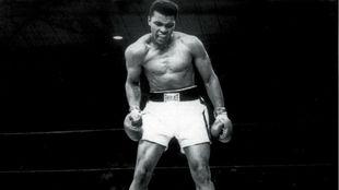 Muhammad Ali, en un combate