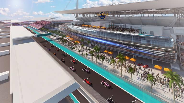 Anuncian principio de acuerdo para el Gran Premio de Miami en 2021