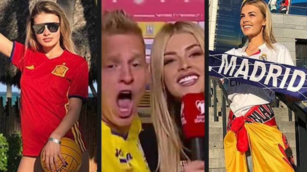 The Manchester City man's wild celebrations alongside his partner...