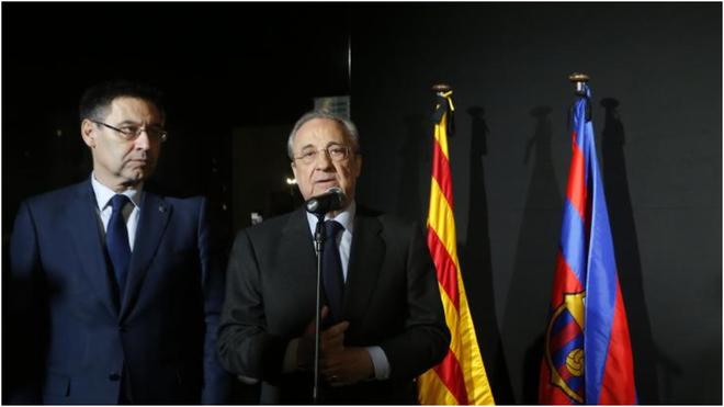 Real Madrid y Barça rechazan el cambio de estadio de El Clasico