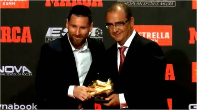 La Liga key, says Messi after sixth Golden Shoe