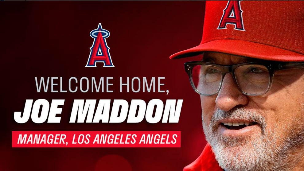 Joe Maddon regresa a los Angelinos