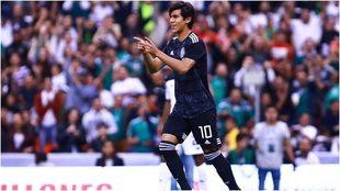 Macías en el Estadio Azteca