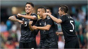 México en el Estadio Azteca