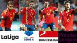 ¿Qué liga tiene el mejor once formado por jugadores españoles?