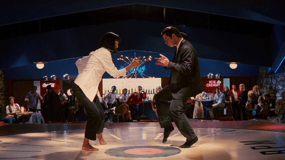 Lo que no se vio de la icónica escena de baile de 'Pulp Fiction'   Marca.com