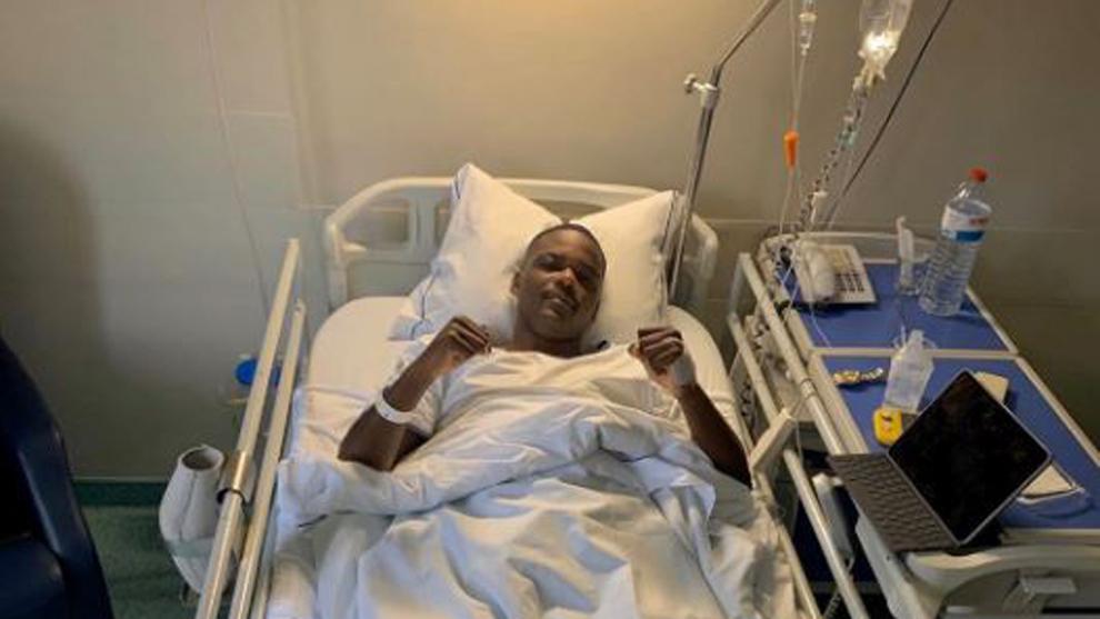 William Carvalho podría estar cuatro meses de baja por una hernia discal lumbar.