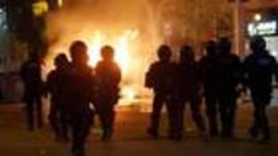 Las protestas en Barcelona se han vuelto cada vez más violentas