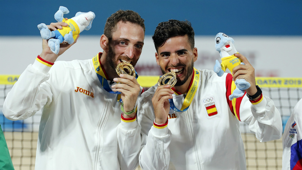La pareja campeona, Gerard Rodríguez y Antomi Ramos