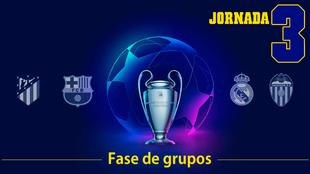 Champions League: 2019 - 20: Partidos, horarios y donde ver por TV la...
