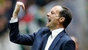 Allegri, durante su etapa en la Juventus.